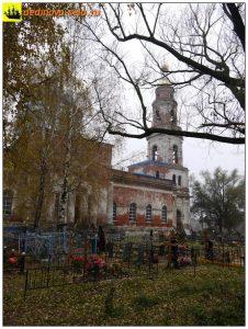 Кладбище возле Казанской церкви, 2015 г.