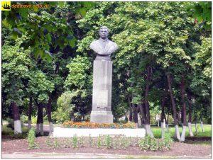 Бюст Генералову Ф.С. в парке его имени, 2007г.