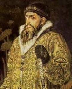Иоанн Грозный. Фрагмент картины В.Васнецова