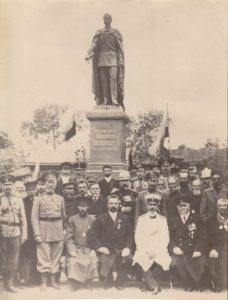 Открытие памятника-Александру I. Фото из Интернета