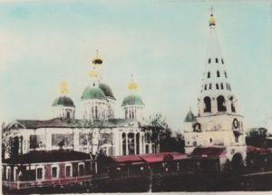Храм Воскресения Христова с колокольней. Фото с сайта dedinov.ru
