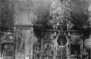Интерьер Воскресенского храма. Фото с сайта  dedinov.ru