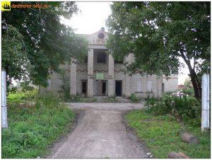 Разрушенное здание бывшего Мичуринского клуба.  2006 г.